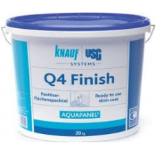Aquapanel Q4 Finish gipsz 20kg vödör